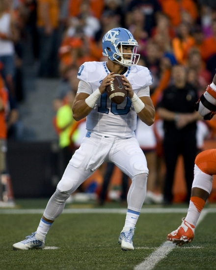 the latest fc842 90aa1 UNC Football: Helmet stickers for Tar Heels win over Illinois