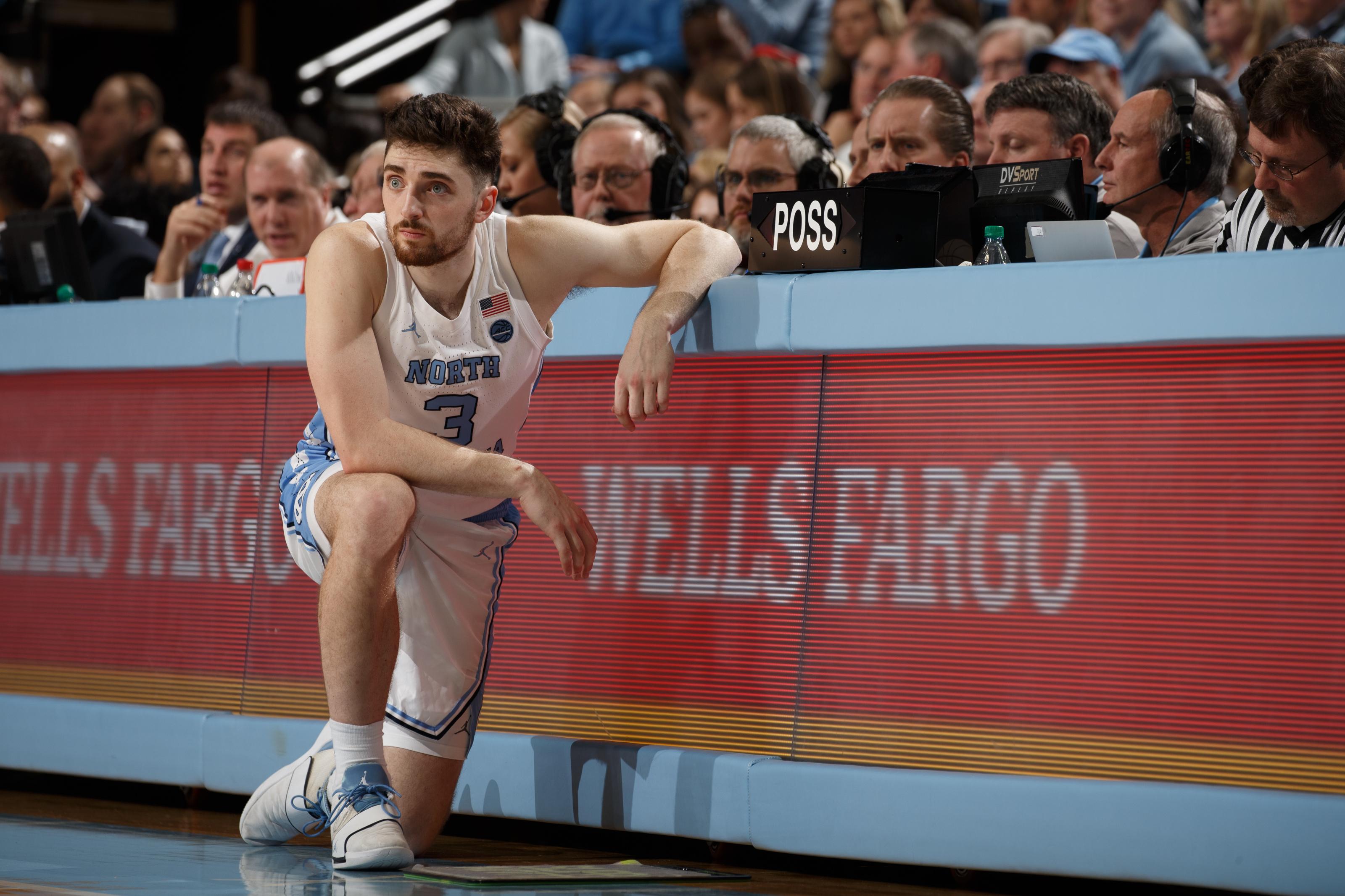 Andrew Platek North Carolina Basketball Jersey - White